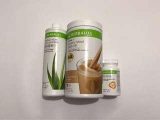 包郵 減肥三寶咖啡味 原裝Herbalife 康寶萊