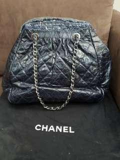 Channel bag (navy)
