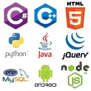 🚚 Java Python Node.js React PHP Database C++ HTML CSS Javascript JQuery MySQL Oracle Programming Assignment Project Help Debug for Poly College University