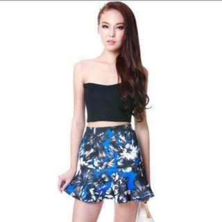 Mds printed pattern skirt