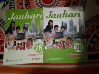 Jauhari textbook and workbook 2b