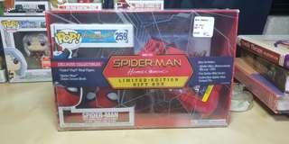 Spiderman Homecoming Blu-Ray Gift Set Funko Pop
