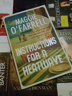 Instructions for a Heat Wave by Maggie O'Farrel
