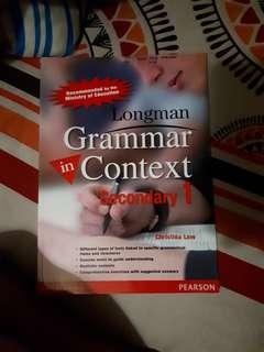 Longman Grammar Context Sec 1