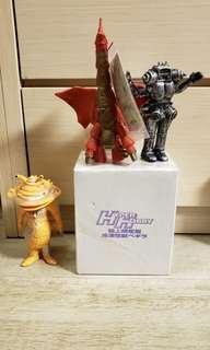 (聖誕大清貨) 咸蛋超人 怪獸4款 Ultraman Monster Series UHS UMS (七星俠怪獸 銀鐵色 KING JOE, 食錢怪, 吉田冷凍怪獸比基拿,超人 G 翼龍怪獸)