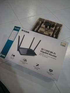 D-Link AC1200 WiFi Dual Band Router