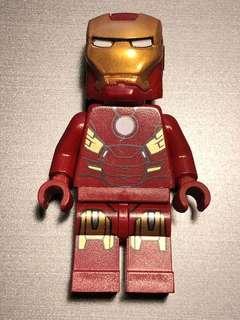 Lego minifigure Ironman MK7