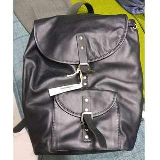 Sandqvist Helmer Leather Backpack Coach LV new with defects
