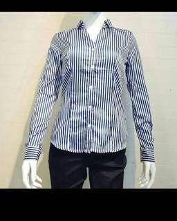 Kemeja kantor blouse wanita hnm H&M ORI cutting label