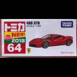 Tomica Ferrari 488GTB 488 GTB