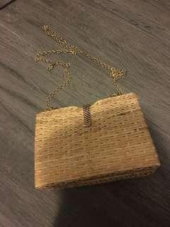 Clutch 藤手袋 竹手袋 handbag Zara