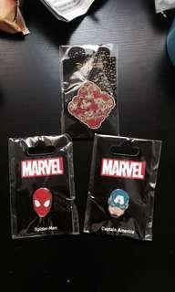 QYOP BNIP HK Disneyland Marvel Trading Pins