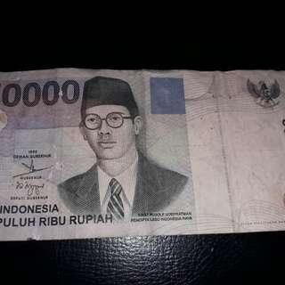 Uang Kertas Rp. 50.000 Tahun 1999