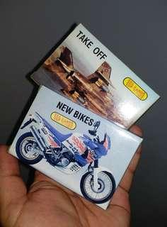 Top Cards : Take Off & New Bikes