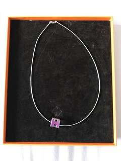 Hermes Cage H Necklace