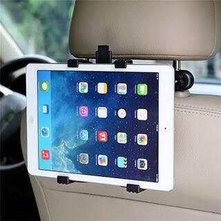 Car Back Seat Headrest Holder For Ipad And Tablet