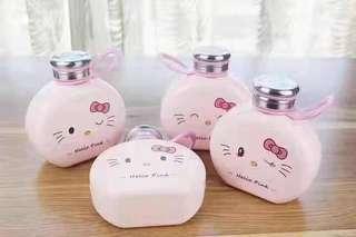 Hello Kitty Glass Bottle