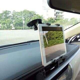 Tablet Holder For Dashboard & Windshield