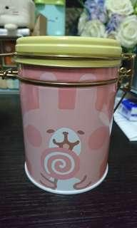 P助與兔兔kanahei儲物罐