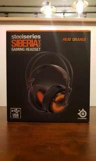 Steelseries Siberia V2 Heat Orange Gaming Headset