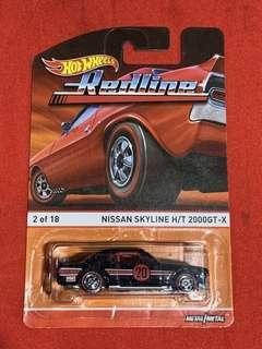 Hotwheels Redline Nissan Skyline H/T 2000GT-X