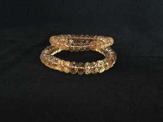 黃水晶手串