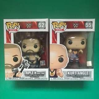 *$22 Each* HHH / Kurt Angle Funko Pop WWE Figures