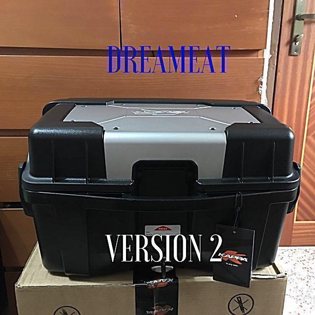 stile classico del 2019 acquista per il più recente il migliore Kappa KGR46 GARDA 46L TOP CASE(FREE BASEPLATE & INSTALLATION ...