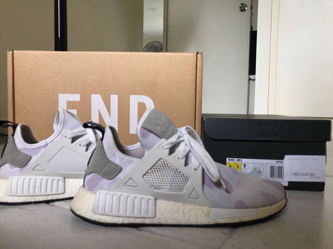 the best attitude 8f18e 75d38 Adidas NMD XR1 white camo