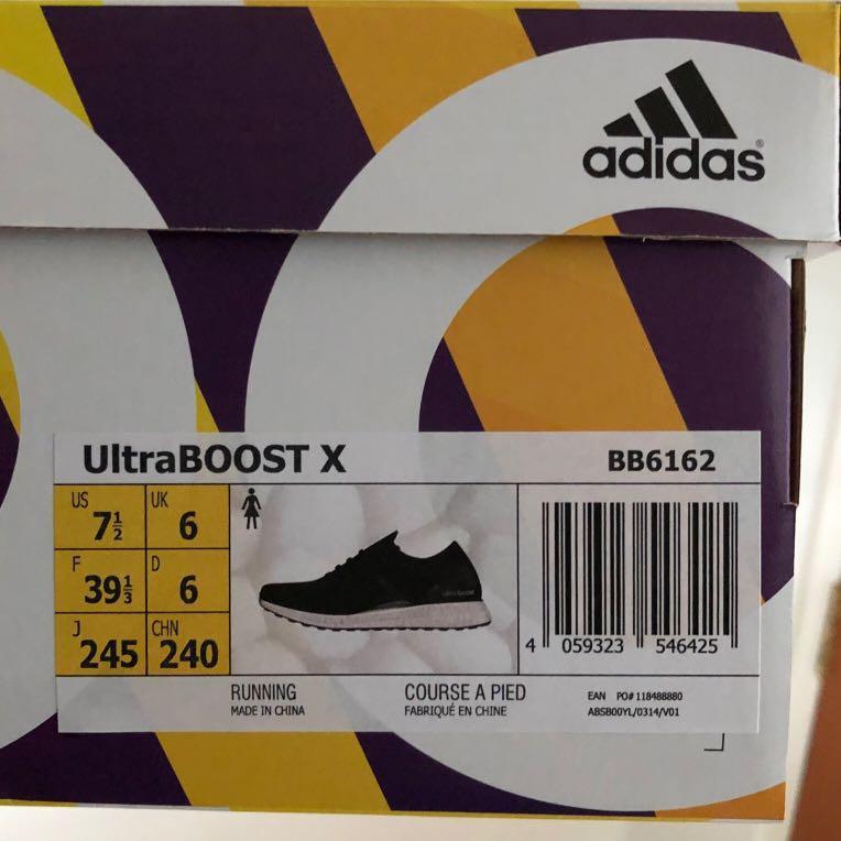 f681ef03d8a73 Adidas Ultraboost BB6162 (US 7.5)