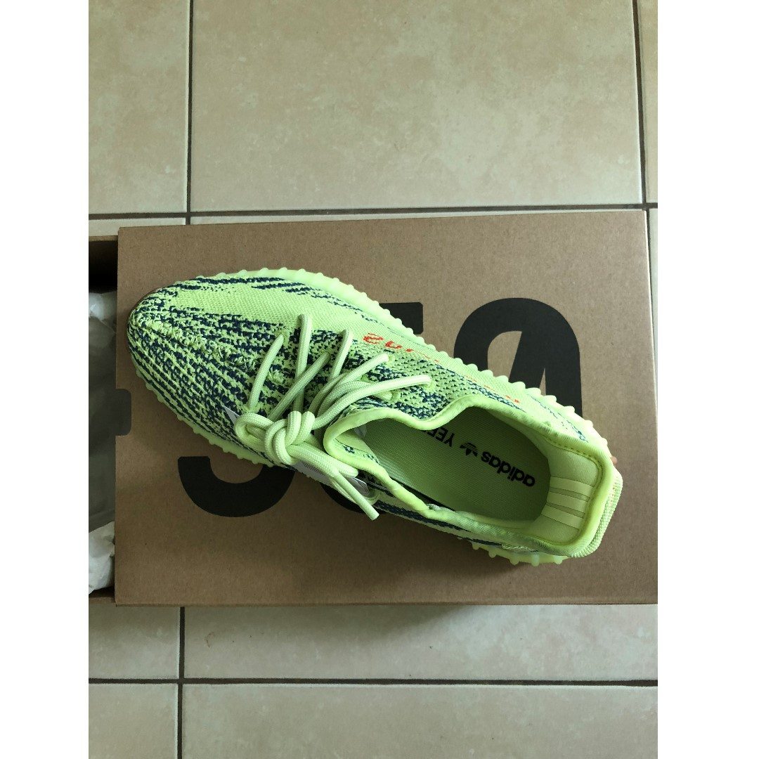 e9b227269 adidas Yeezy Boost 350 v2 Semi Frozen Yellow Size 9.5 US