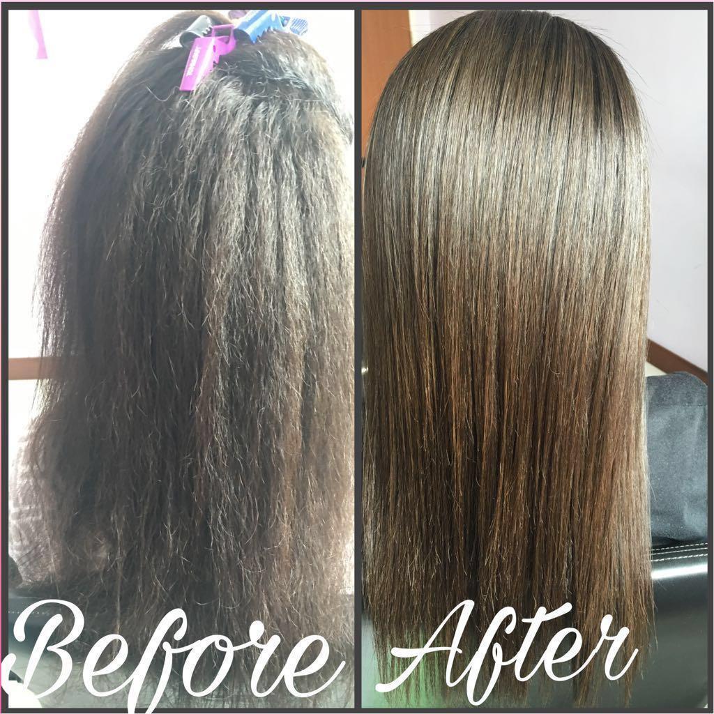 Affordable Home Based Hair Rebond At Punggol