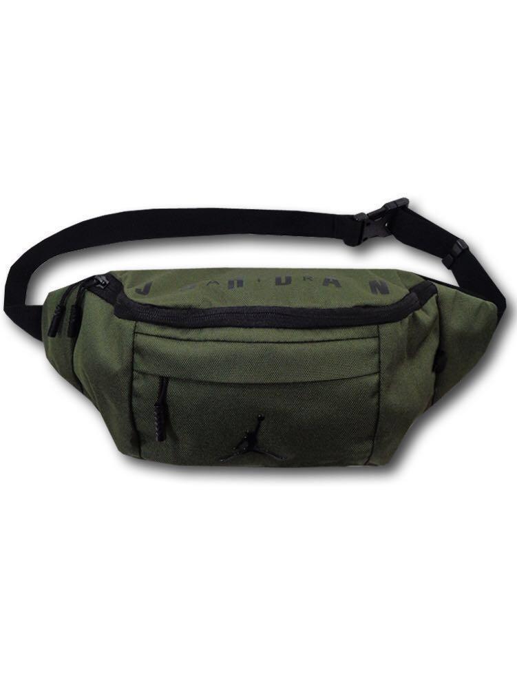 8478ac6e2962 Air Jordan Jumpman Sling Bag  Hip Bag (dark green)