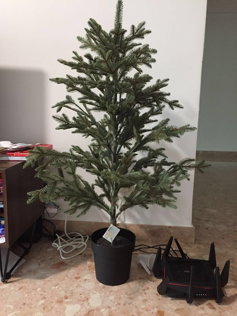 Artificial Christmas Tree Gardening Plants On Carousell