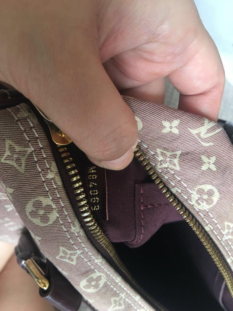 Authentic Louis Vuitton LV Speedy 30 Bandouliere Idylle with strap