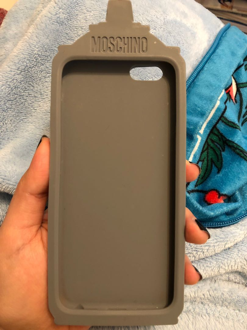 5cafd124833 Authentic Moschino spray paint iphone6/6s 3D phone cover, Mobile Phones &  Tablets, Mobile & Tablet Accessories, Cases & Sleeves on Carousell