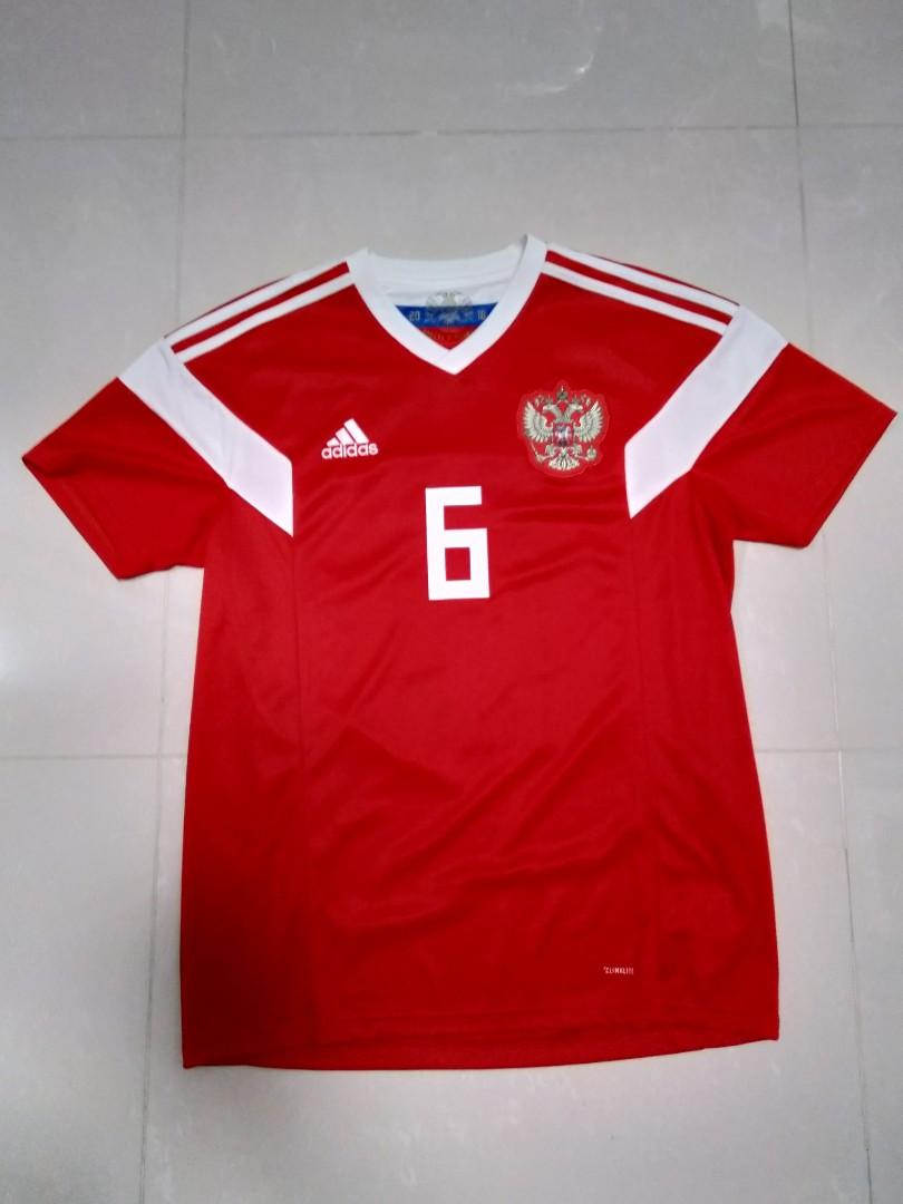 best loved ec72e 9ae30 Authentic Russia 2018 World Cup jersey (fan version) size M ...