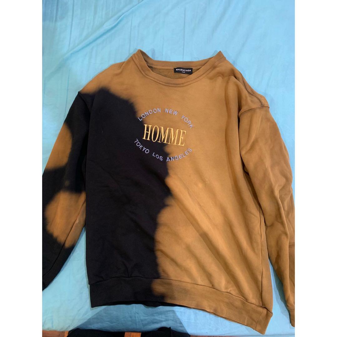 économiser 37c8f b8f13 Balenciaga Homme bleached sweatshirt (Replica)