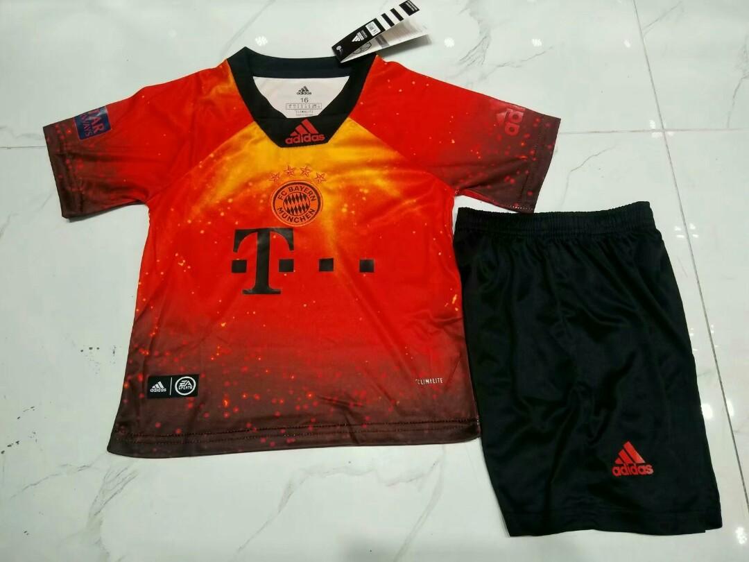 490b91b2b80 Bayern Munich 18-19 X EA Sports Kids Kit