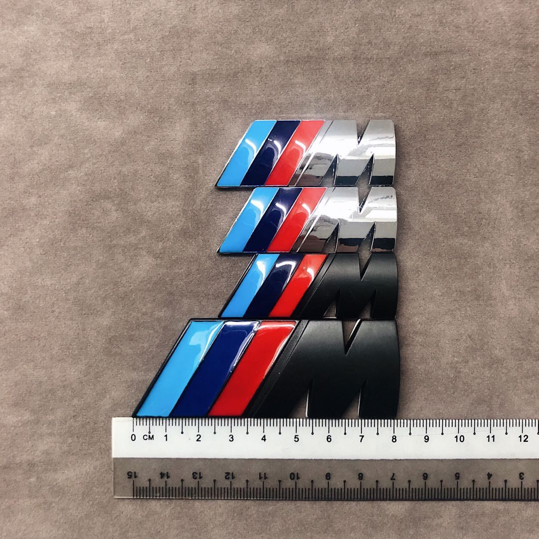 Bmw M Emblem In Different Sizes Car Accessories Accessories On