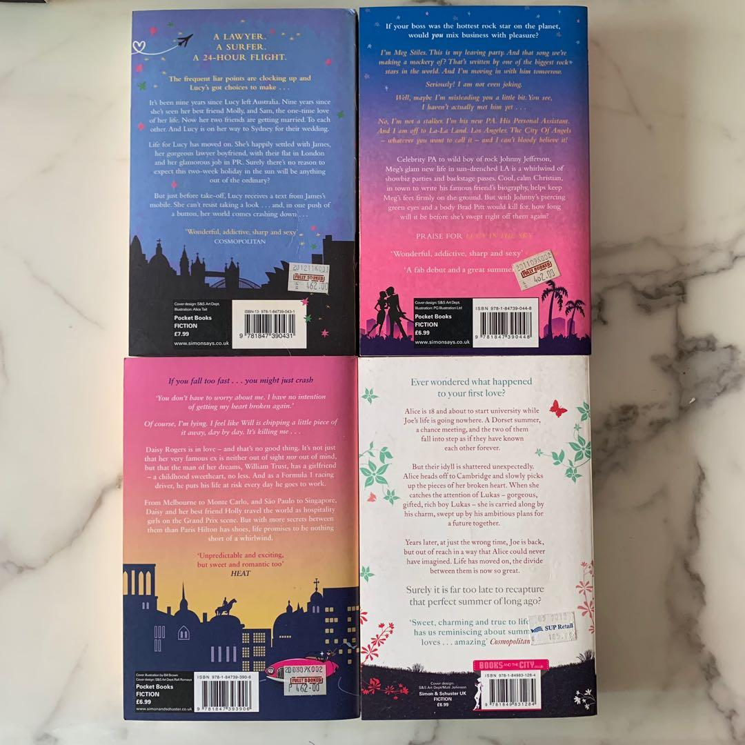 Books by Paige Toon (Lucy in the Sky, Johnny Be Good, Chasing Daisy, One Perfect Summer)