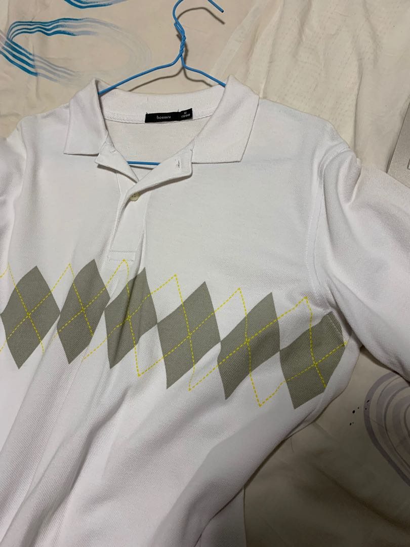 abc63326 Bossoni golf polo, Men's Fashion, Clothes, Tops on Carousell