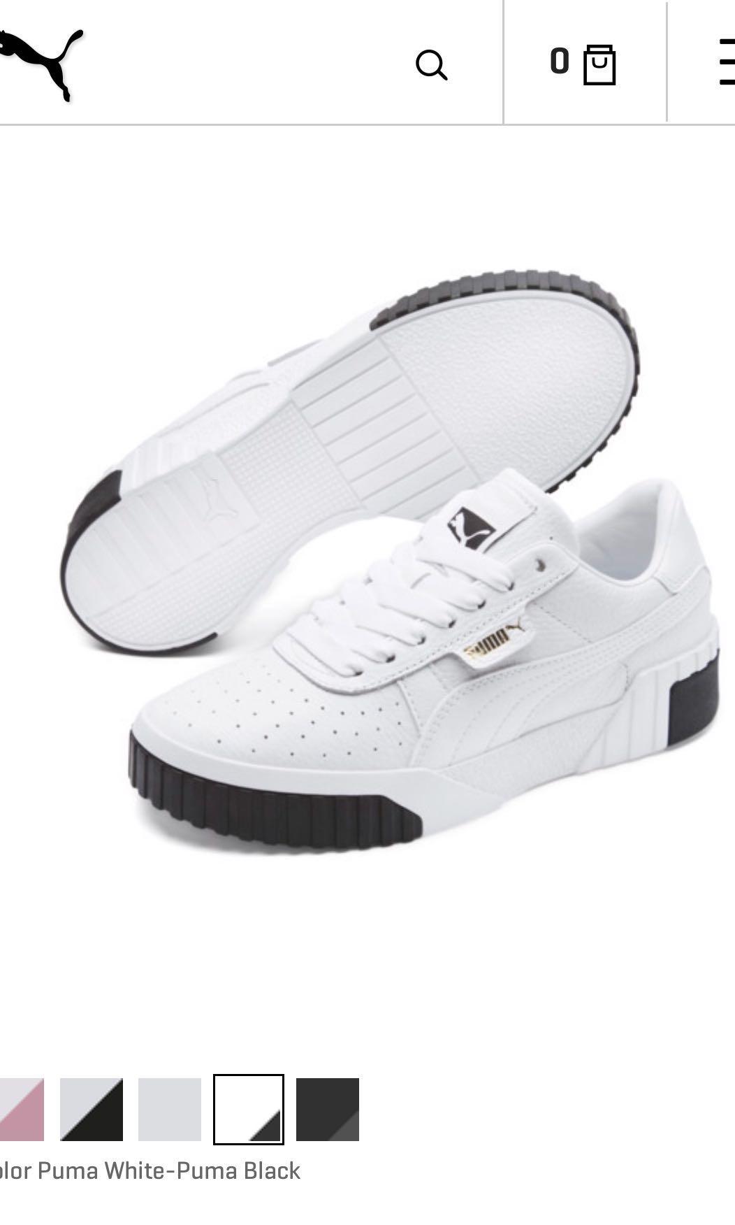 brand new puma Cali fashion sneakers