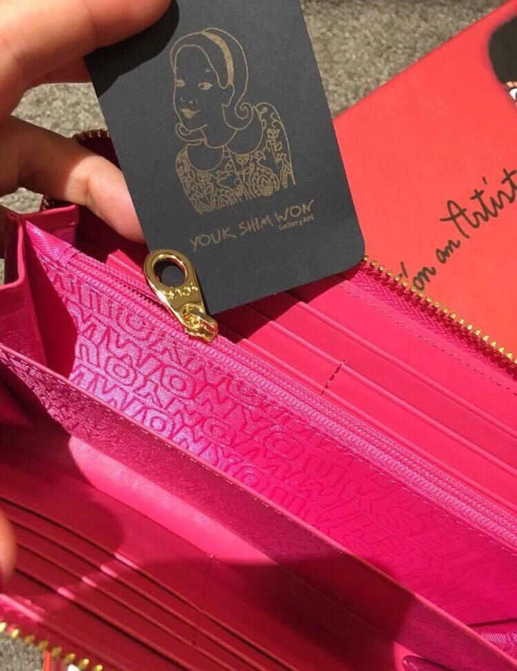 Brand new Youk Shim Won wallet bought in Korea