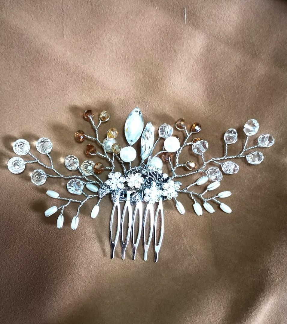 Bridal Hair Accessories hair Comb Jewelry for wedding party