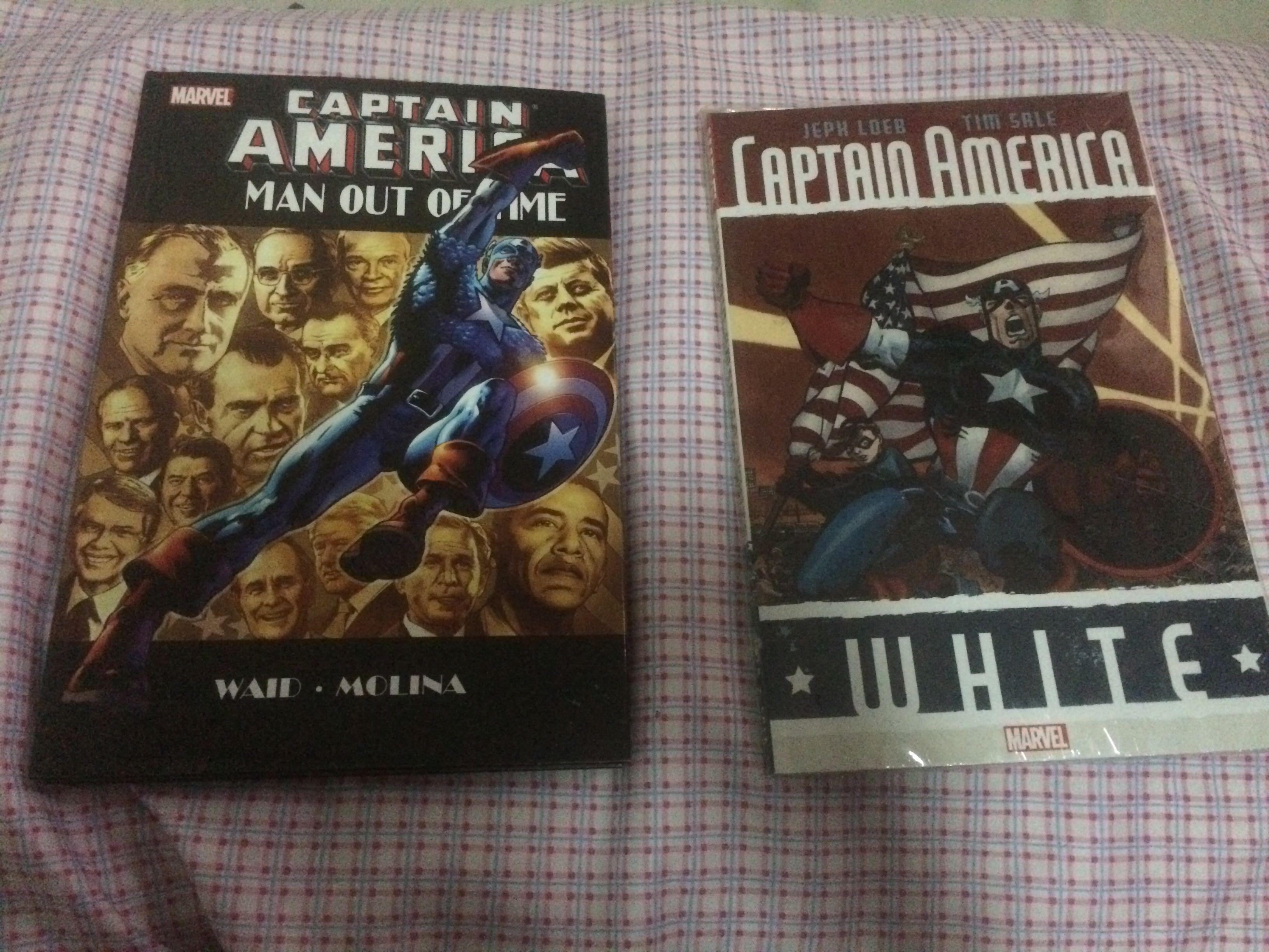 Captain America Man Out of Time/ Captain America White