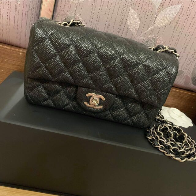 5ab202302f77 Chanel Classic Mini 20, Luxury, Bags & Wallets, Sling Bags on Carousell