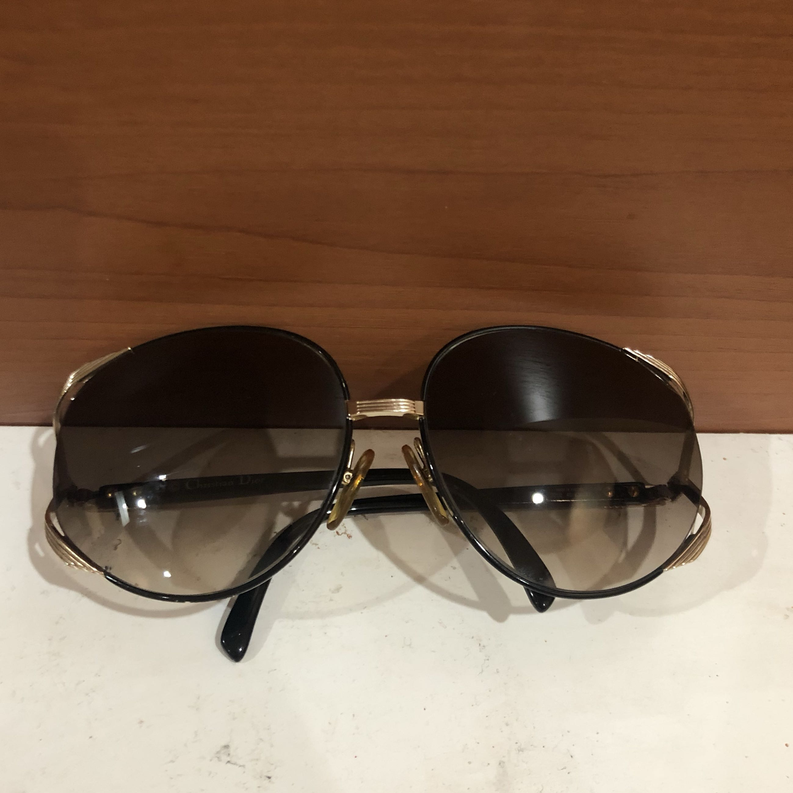 10fd7b0341 Christian dior oversized sunglasses authentic