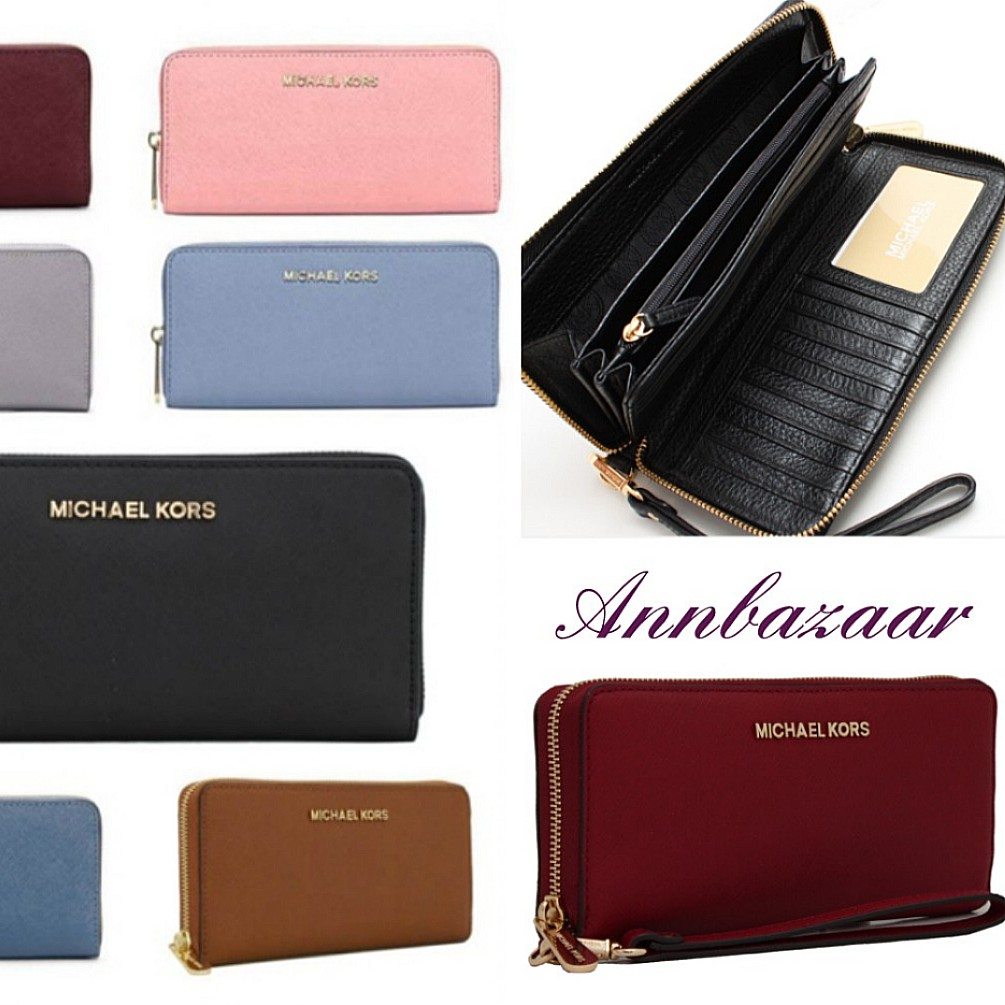 c4aec3b6dce282 INSTOCK SPECIAL OFFER! Michael Kors Jet Set Travel Continental ...