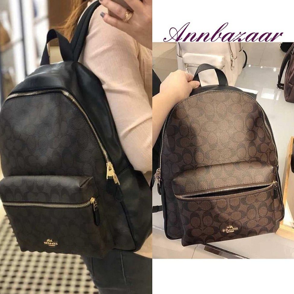 b4d753fe4c6708 SPECIAL OFFER! Coach Large Backpack for Women- Signature (100 ...